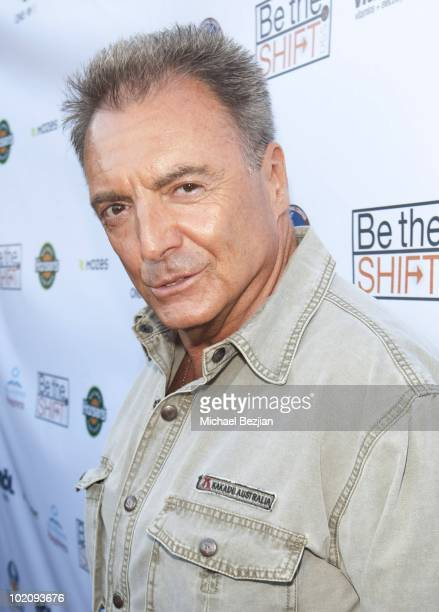 Actor Armande Assante attends 'Be The Shift' Launch Event at Industry on June 14 2010 in Los Angeles California