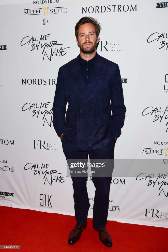 "Nordstrom Supper Suite ""Call Me By Your Name"" Official Premiere After Party"
