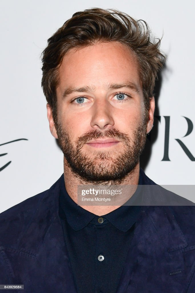 Actor Armie Hammer arrives at Nordstrom Supper Suite 'Call Me By Your Name' official premiere after party at STK Toronto on September 7, 2017 in Toronto, Canada.