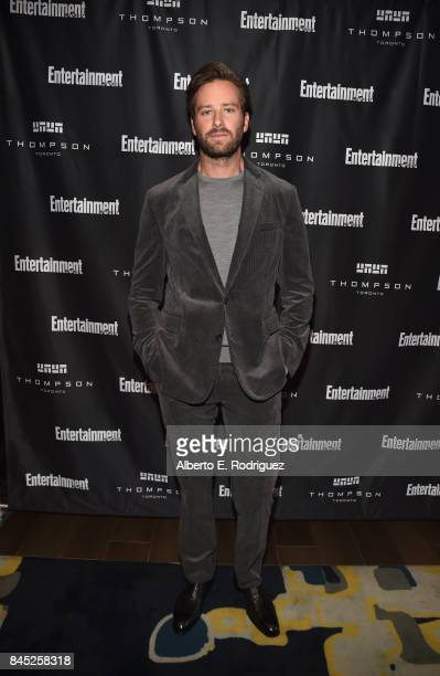 Actor Armie Hammer attends Entertainment Weekly's Must List Party during the Toronto International Film Festival 2017 at the Thompson Hotel on...