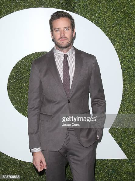 Actor Armie Hammer Attends The 2016 Gq Men Of The Year Party At News Photo Getty Images