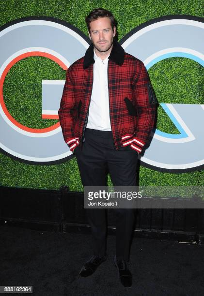 Actor Armie Hammer attends the 2017 GQ Men Of The Year Party at Chateau Marmont on December 7 2017 in Los Angeles California