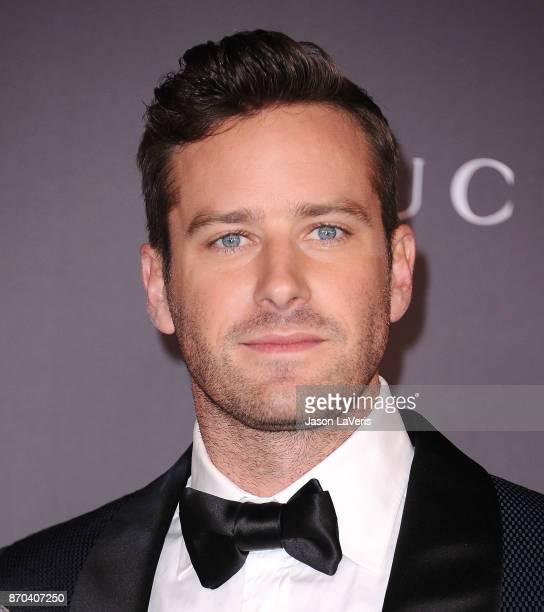 Actor Armie Hammer attends the 2017 LACMA Art Film gala at LACMA on November 4 2017 in Los Angeles California