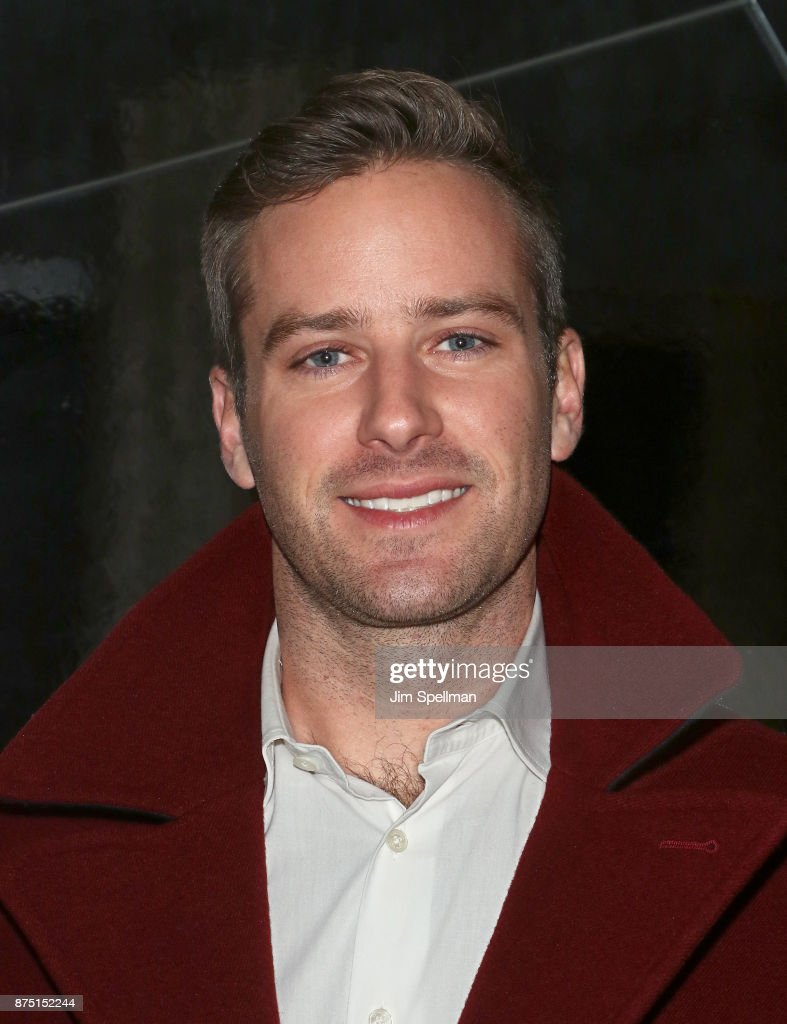 Actor Armie Hammer attends the after party for the screening of Sony Pictures Classics' 'Call Me By Your Name' hosted by Calvin Klein and The Cinema Society at Bar SixtyFive on November 16, 2017 in New York City.