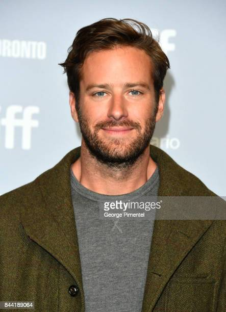 Actor Armie Hammer attends the 'Call Me By Your Name' press conference during 2017 Toronto International Film Festival at TIFF Bell Lightbox on...