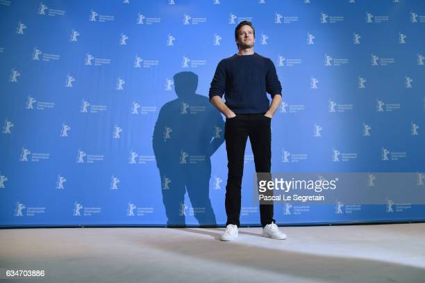 Actor Armie Hammer attends the 'Final Portrait' photo call during the 67th Berlinale International Film Festival Berlin at Grand Hyatt Hotel on...
