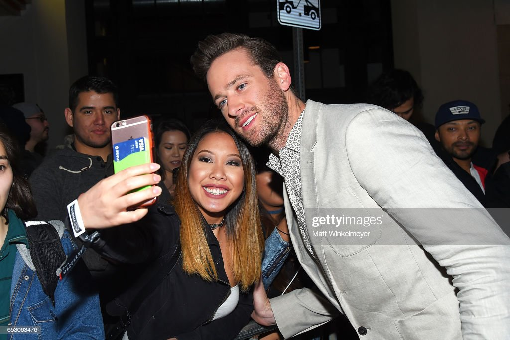 Actor Armie Hammer attends the 'FREE FIRE' premiere 2017 SXSW Conference and Festivals on March 13, 2017 in Austin, Texas.