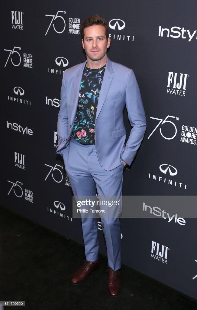 FIJI Water at the Hollywood Foreign Press Association and InStyle's Celebration of the 2018 Golden Globe Awards Season and Unveiling of the Golden Globe Ambassador : News Photo