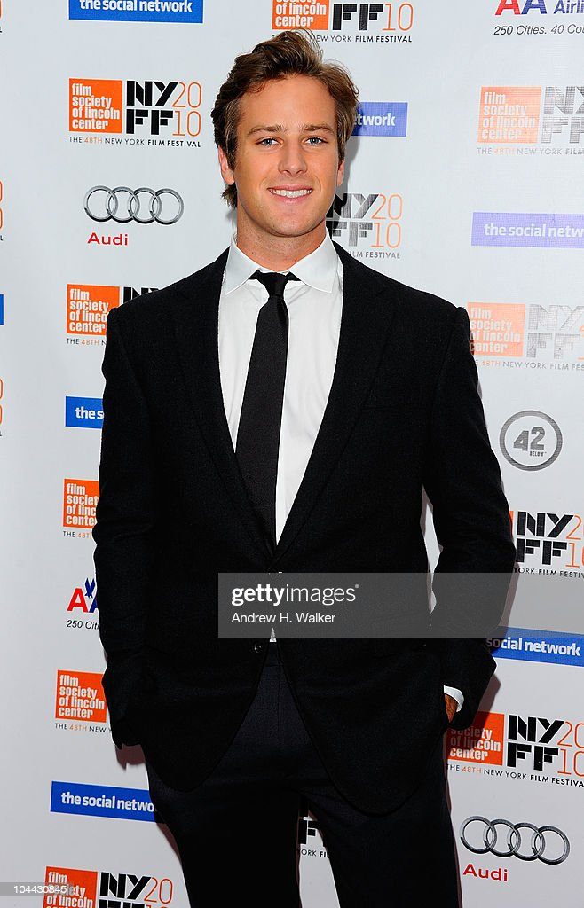 "48th New York Film Festival - ""The Social Network"" - Arrivals : News Photo"