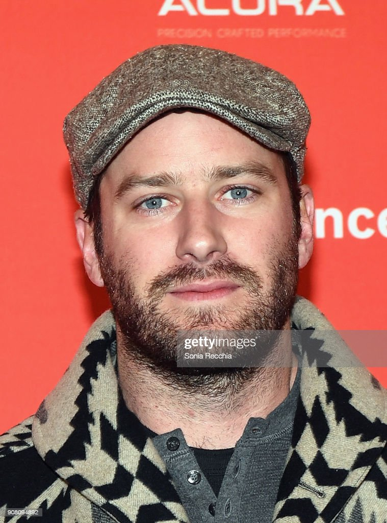 Actor Armie Hammer attends the 'Sorry To Bother You' Premiere during 2018 Sundance Film Festival at Park City Library on January 20, 2018 in Park City, Utah.