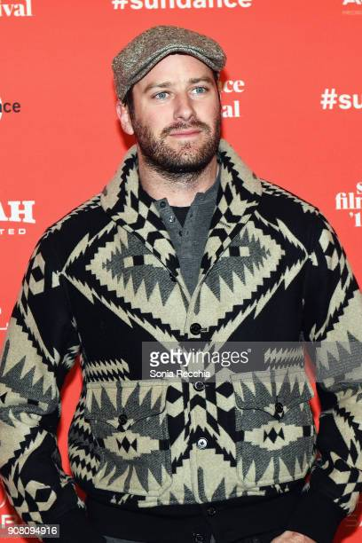 Actor Armie Hammer attends the 'Sorry To Bother You' Premiere during 2018 Sundance Film Festival at Park City Library on January 20 2018 in Park City...