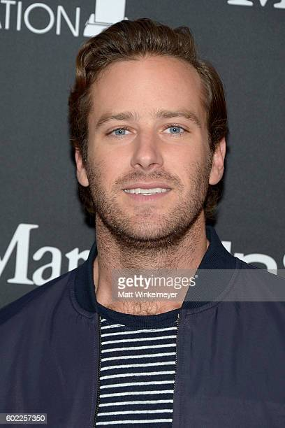 Actor Armie Hammer attends the TIFF/InStyle/HFPA Party during the 2016 Toronto International Film Festival at Windsor Arms Hotel on September 10 2016...