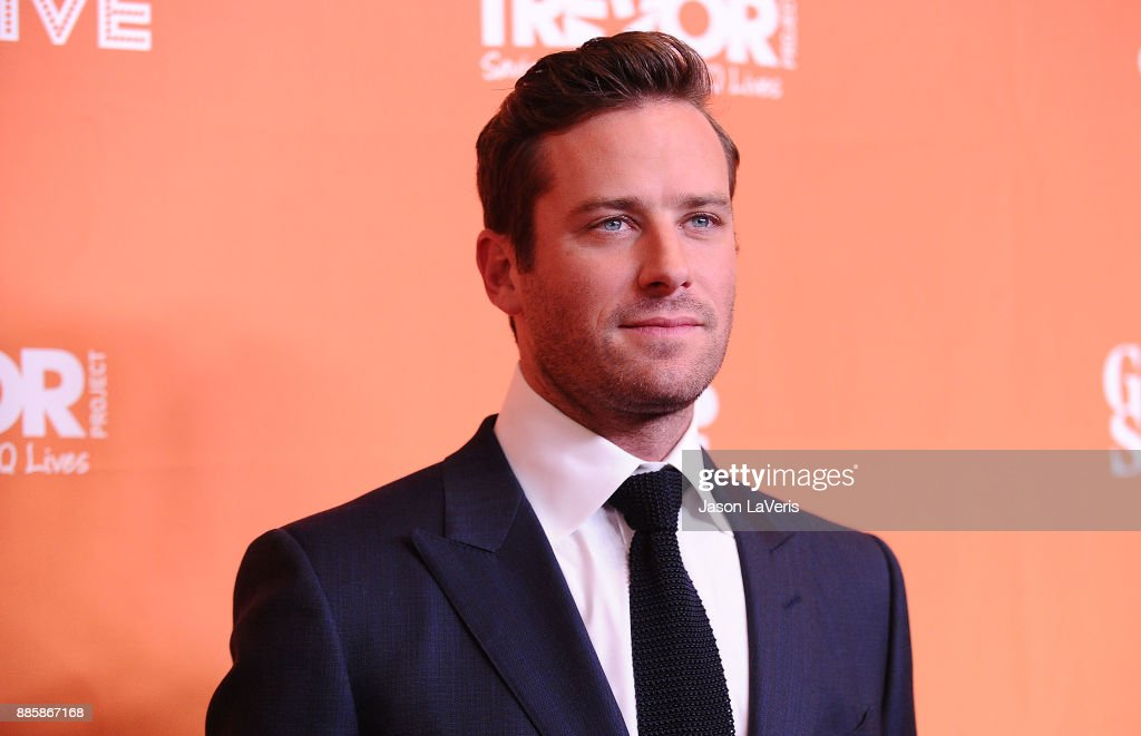 Actor Armie Hammer attends The Trevor Project's 2017 TrevorLIVE LA at The Beverly Hilton Hotel on December 3, 2017 in Beverly Hills, California.