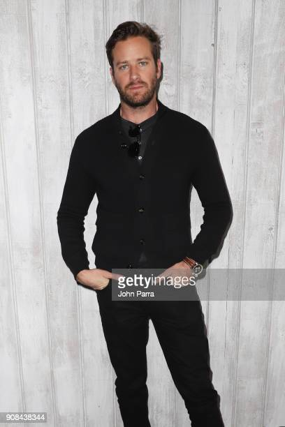 Actor Armie Hammer from 'Sorry To Bother You' attends The Hollywood Reporter 2018 Sundance Studio At Sky Strada Park City during the 2018 Sundance...