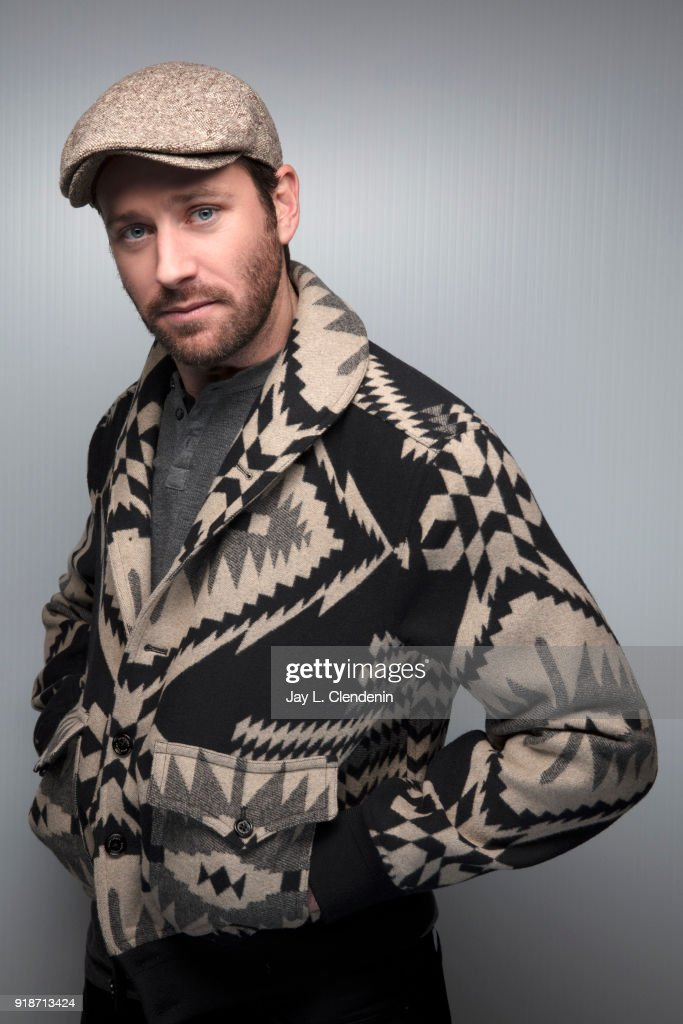 Actor Armie Hammer, from the film 'Sorry to Bother You', is photographed for Los Angeles Times on January 20, 2018 in the L.A. Times Studio at Chase Sapphire on Main, during the Sundance Film Festival. PUBLISHED IMAGE.