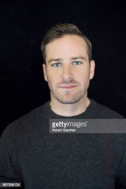 Actor Armie Hammer is photographed for Los Angeles Times on November 4 2017 in Los Angeles California PUBLISHED IMAGE CREDIT MUST READ Robert...