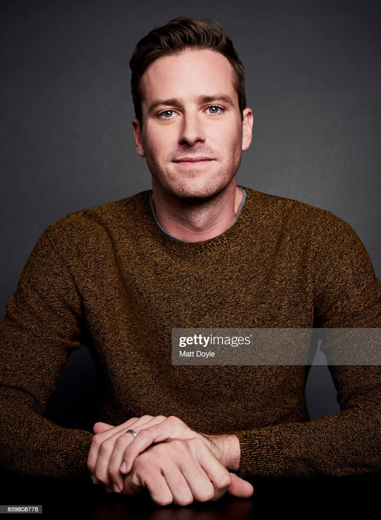 Actor Armie Hammer of 'Call Me By Your Name' pose for a portrait at the 55th New York Film Festival on October 4, 2017.