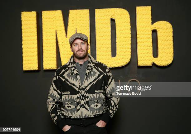 Actor Armie Hammer of 'Sorry To Bother You' attends The IMDb Studio and The IMDb Show on Location at The Sundance Film Festival on January 20 2018 in...