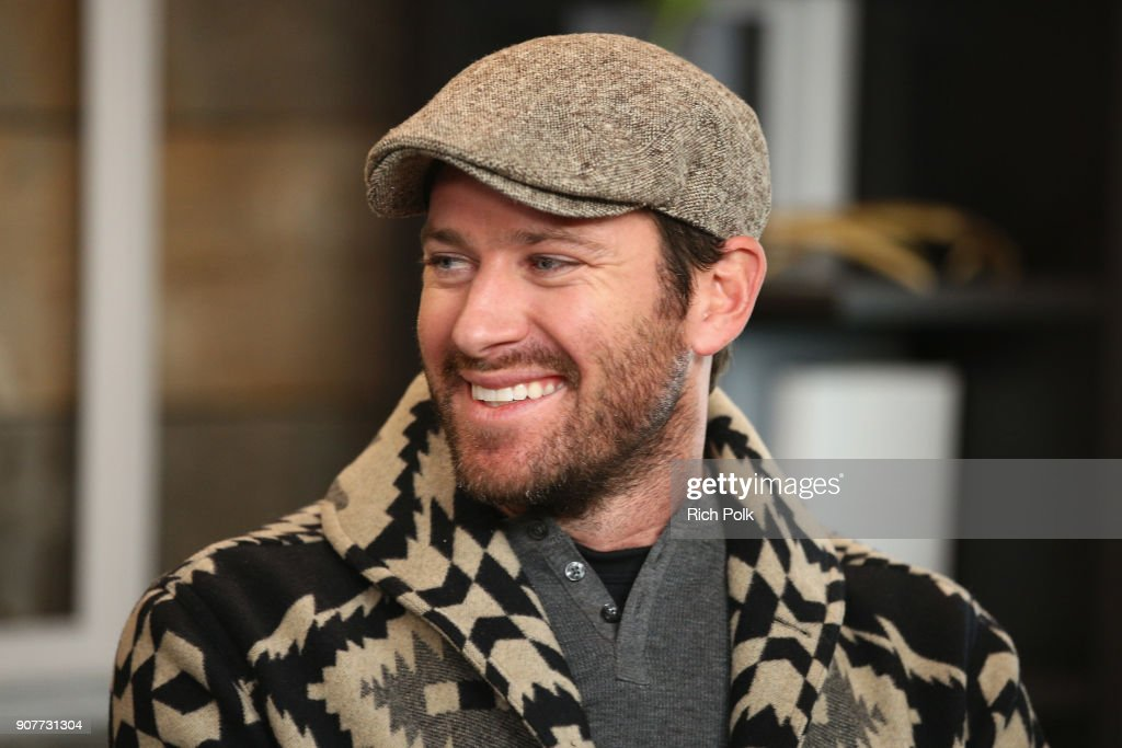 Actor Armie Hammer of 'Sorry To Bother You' attends The IMDb Studio and The IMDb Show on Location at The Sundance Film Festival on January 20, 2018 in Park City, Utah.