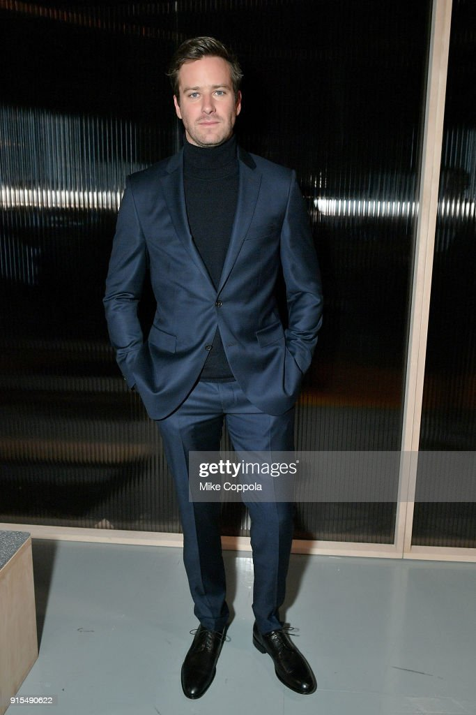 BOSS Menswear - Front Row - February 2018 - New York Fashion Week Mens'