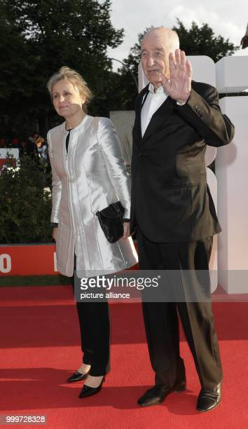 Actor Armin MuellerStahl and his wife Gabriele Scholz arrive at the BILD100 summer reception in Berlin 04 September 2017 100 of the most important...