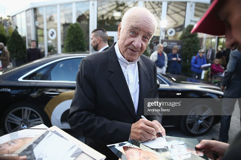 Actor Armin Mueller-Stahl attends the Lifetime Achievement Award Ceremony during the Zurich Film Festival on September 28, 2015 in Zurich, Switzerland. The 11th Zurich Film Festival will take place from September 23 until October 4.