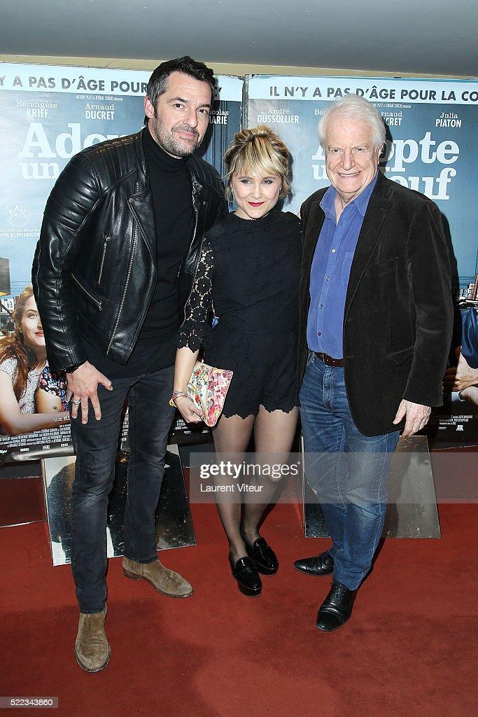 """""""Adopte Un Veuf"""" Paris Premiere At Cine Cite UGC Les Halles"""