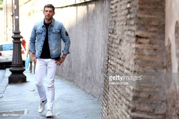 Actor Arnaud Valois attends '120 Battiti Al Minuto' Photocall on September 28 2017 in Rome Italy