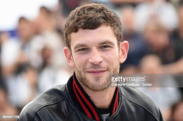 Actor Arnaud Valois attends the '120 Beats Per Minute ' photocall during the 70th annual Cannes Film Festival at Palais des Festivals on May 20 2017...