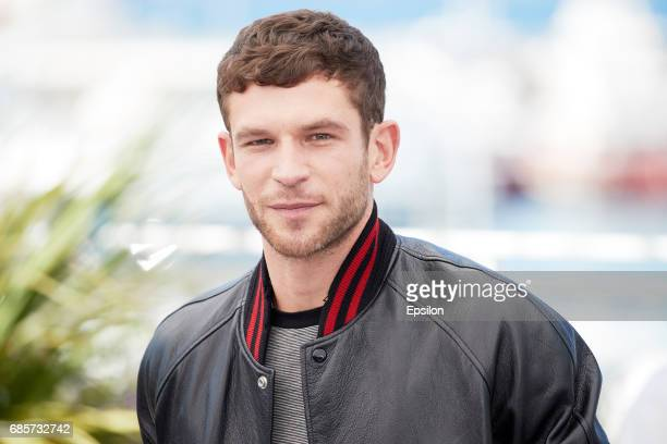 Actor Arnaud Valois attends the '120 Beats Per Minute ' Press Conference during the 70th annual Cannes Film Festival at Palais des Festivals on May...