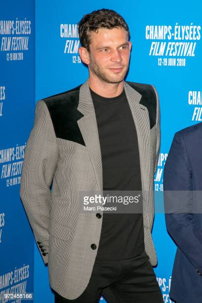 Actor Arnaud Valois attends the 7th Champs Elysees Film Festival at Cinema Gaumont Marignan on June 12 2018 in Paris France