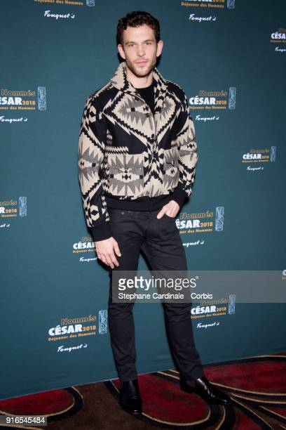 Actor Arnaud Valois attends the Cesar 2018 Nominee Luncheon at Le Fouquet's on February 10 2018 in Paris France