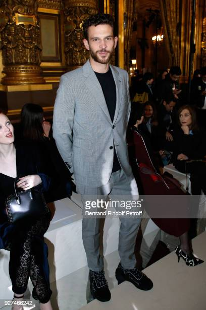 Actor Arnaud Valois attends the Stella McCartney show as part of the Paris Fashion Week Womenswear Fall/Winter 2018/2019 on March 5 2018 in Paris...