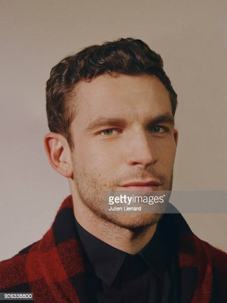 Actor Arnaud Valois is photographed for Self Assignment on February 2018 in Paris France
