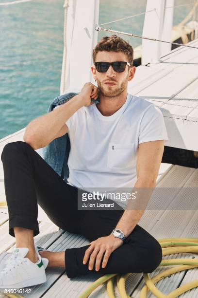 Actor Arnaud Valois is photographed for Self Assignment on May 21 2017 in Cannes France