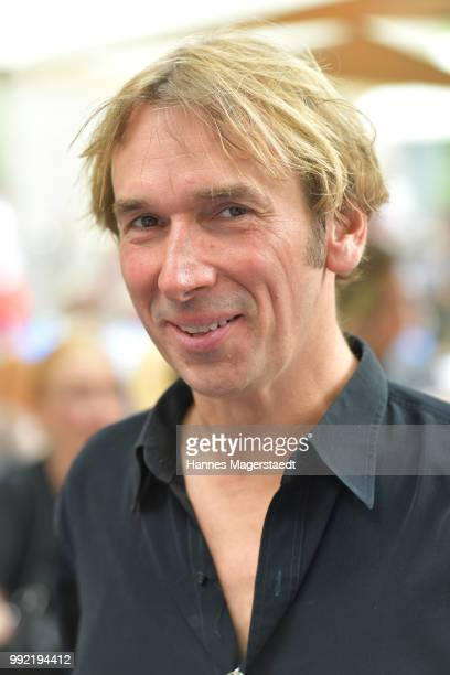 Actor Arnd Schimkat attends the FFF reception during the Munich Film Festival 2018 at Praterinsel on July 5 2018 in Munich Germany