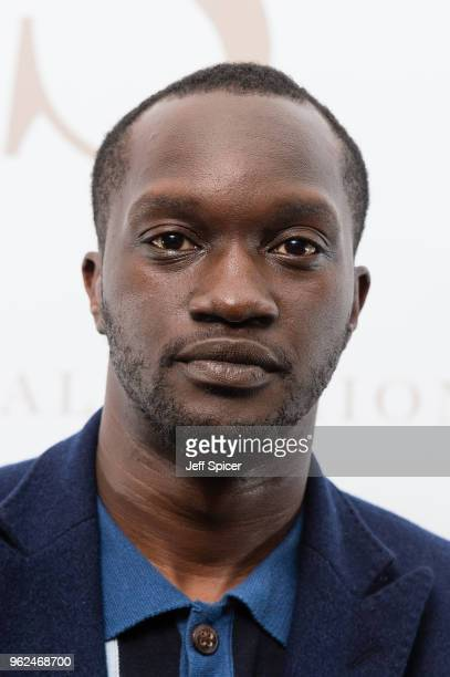 Actor Arnold Oceng attends the inaugural International Fashion Show at Rosewood Hotel on May 25 2018 in London England
