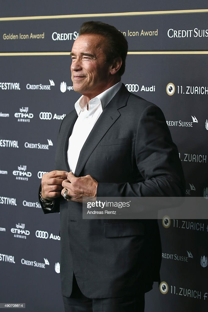 'Maggie' Premiere and 'ZFF Golden Icon Award' - Zurich Film Festival 2015 : Foto jornalística