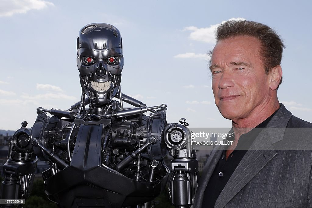 ENTERTAINMENT-FRANCE-US-FILM-TERMINATOR : News Photo