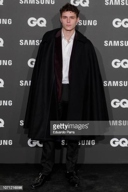 Actor Aron Piper attends the 'GQ Men of the Year' awards photocall at Palace hotel on November 22 2018 in Madrid Spain