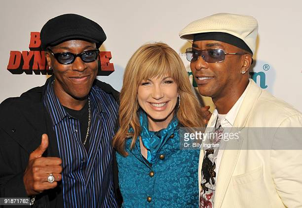 Actor Arsenio Hall television personality Leeza Gibbons and actor Miguel A Nunez Jr attend the Black Dynamite Los Angeles Premiere at ArcLight...
