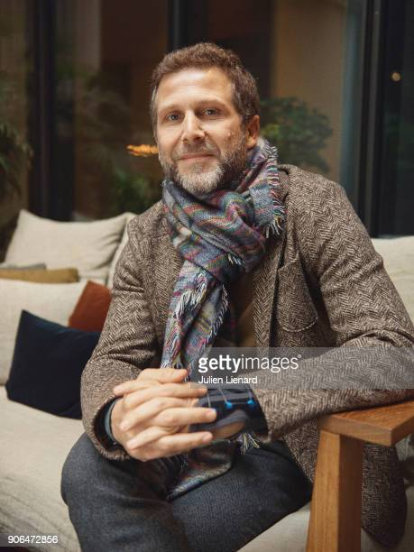 Actor Arthur Benzaquen is photographed for Self Assignment in December 2017 in Paris France