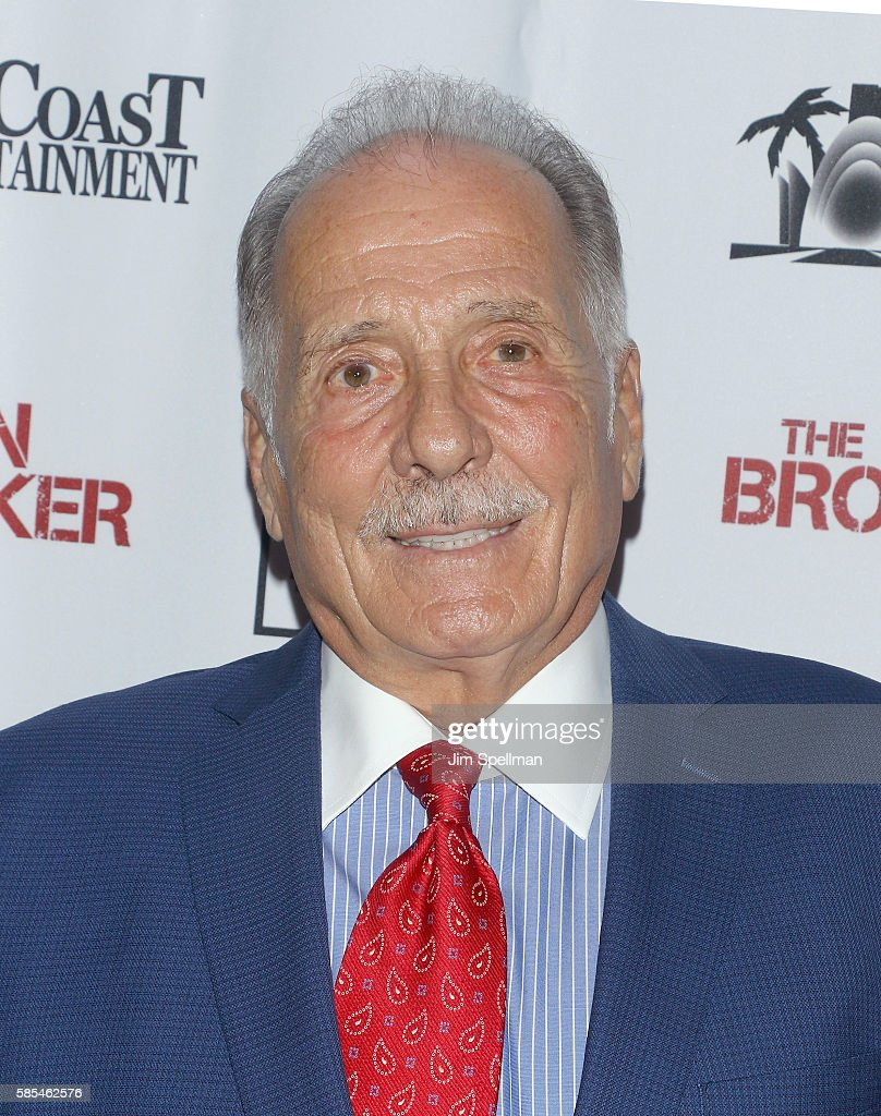 Actor Arthur J. Nascarella attends the 'The Brooklyn Banker' New York premiere at SVA Theatre on August 2, 2016 in New York City.