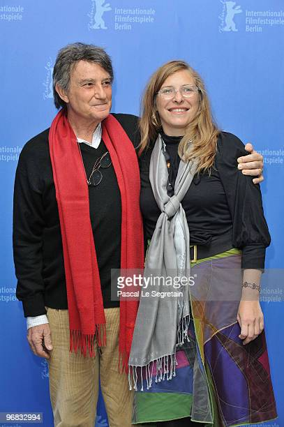 Actor Arturo Goetz and director Natalia Smirnoff attend the 'Rompecabezas' Photocall during day eight of the 60th Berlin International Film Festival...