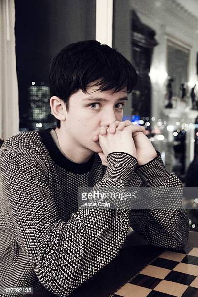 Actor Asa Butterfield is photographed for Wonderland magazine in London England
