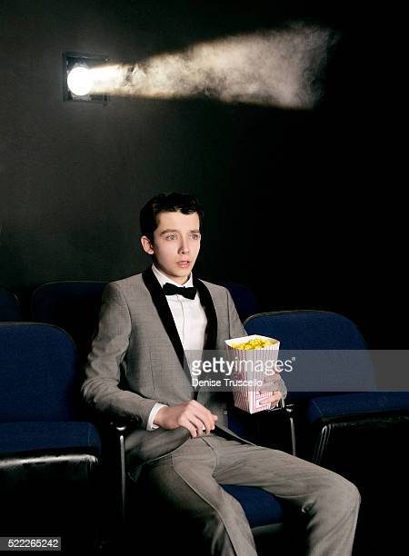 Actor Asa Butterfield poses for a portrait at CinemaCon 2013 on April 18 2013 in Las Vegas Nevada