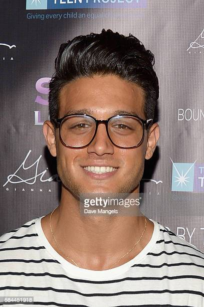 Actor Asaf Goren attends Teen Project LA's 2016 Teen Dream at Sur Restaurant on July 28 2016 in Los Angeles California