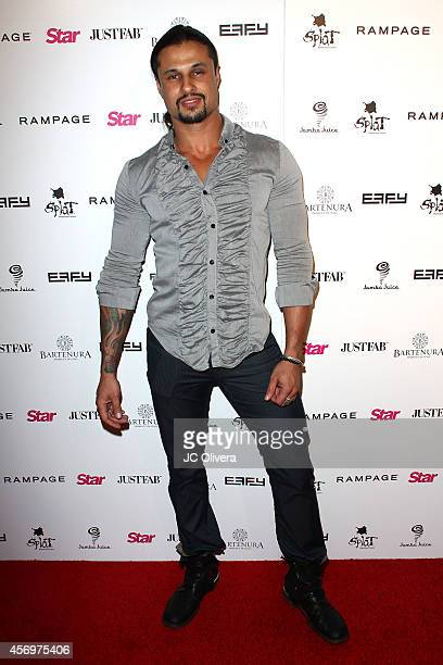 Actor Ash Armand attends the Star Magazine scene stealers event at Lure on October 9, 2014 in Hollywood, California.