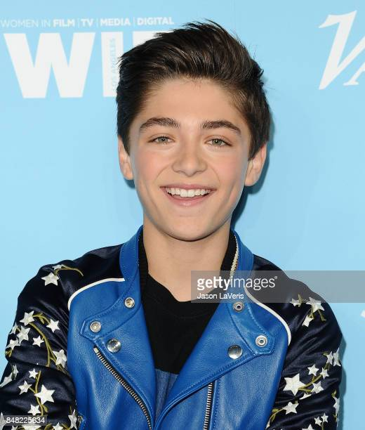 Actor Asher Angel attends Variety and Women In Film's 2017 preEmmy celebration at Gracias Madre on September 15 2017 in West Hollywood California