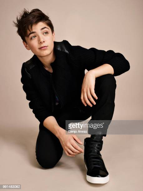 Actor Asher Angel is photographed for Seventeen magazine on June 26 2017 in Los Angeles California